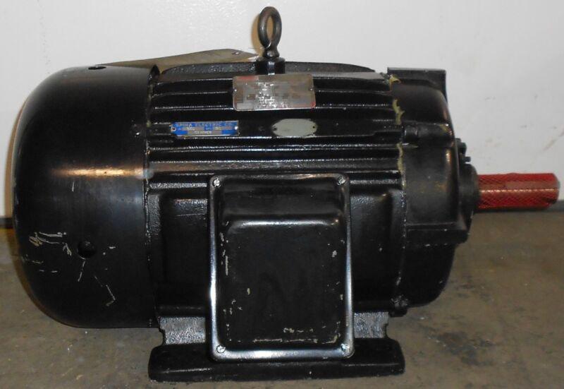 SLS1B12 Reman - Lincoln Motors 20 HP Electric Motor 3520 RPM  #11543WT