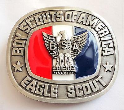 Boy Scouts of America Eagle Scout Belt Buckle - Order of the Arrow OA BSA
