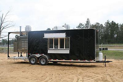 2021 7 X 26 Smoker Bbq Concession Trailer Mobile Kitchen