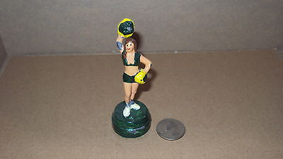 Green Bay Packers Theme (Greenbay Green Bay packers theme cheer leader lead metal NFL manoil barclay )