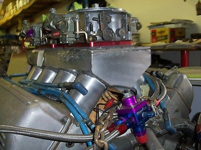 BB CHEVY 500 CU IN MOTOR DRAG RACE ENGINE  OLDS PRO STOCK BLOCK  OLDS HEADS