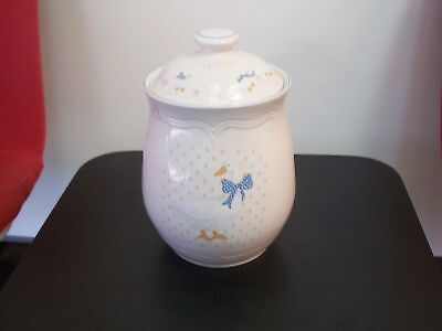 Country Duck, Flour Canister w Lid, 81/8