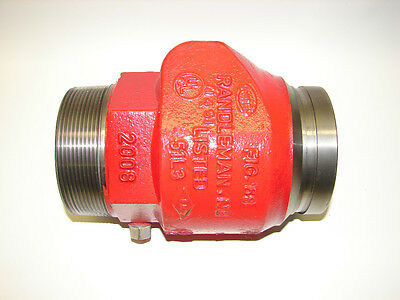 New United Brass Works Randleman 4 Check Valve 68txg Thd X Groove 222844 Fire