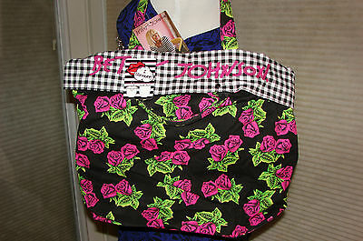 BETSEY JOHNSON TOTE TIN CAN LG REVERSIBLE NWT EXTREMELY PRACTICAL!! RARE & HTF!! Large Tin Magnet