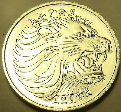 Ethiopia Gem Unc EE 1969(77) F.A.O. Issue 1 Cent~Roaring Lion~Free Shipping