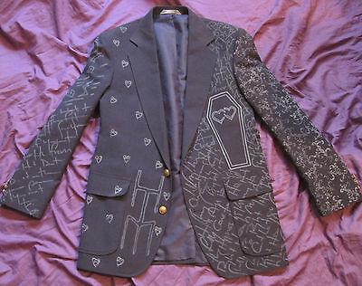 BAM MARGERA FUNERAL OF HEARTS JACKET M, L, XL, XXL HIM ville valo concert shirt