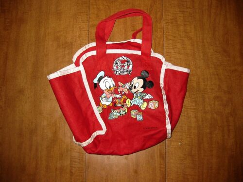 BABY MICKEY MOUSE blocks Disney Playtime Friends tote DONALD DUCK diaper bag