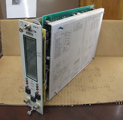 Bently Nevada 3300 Dual Vibration Monitor 330015-01-01-00-01-00-00 4 To 20ma