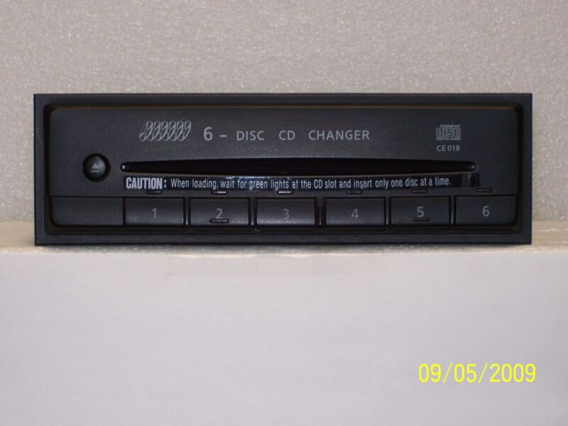2001 NISSAN PATHFINDER 6 DISC CD CHANGER CE018 Warranty