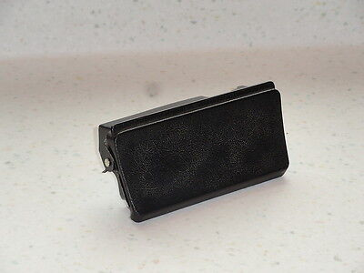 NICE USED ORIGINAL PORSCHE 928 CIGARETTE LIGHTER ASHTRAY HOUSING TEXTURED BLACK