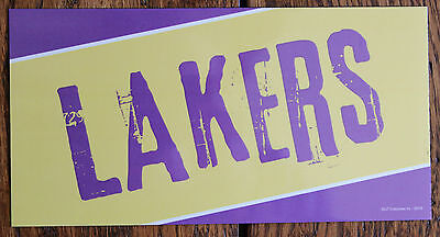 New Los Angeles Lakers LA Car Magnet Made In USA Basketball Sports Decor Fridge - Lakers Decorations