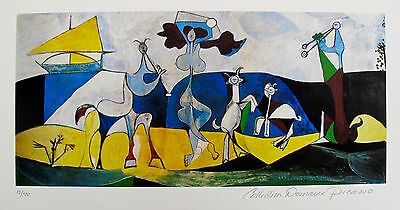 Pablo Picasso JOY OF LIVING Estate Signed & Numbered Small Giclee Art