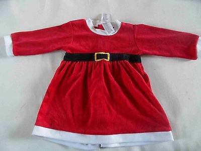 H&M süßes Weihnachtsmannkostüm Kleidchen Nicki Gr. 74 TOP 11-12