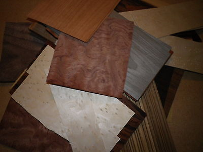 Art Crafts Exotic Wood Veneer 60  Pieces Of A Good Variety