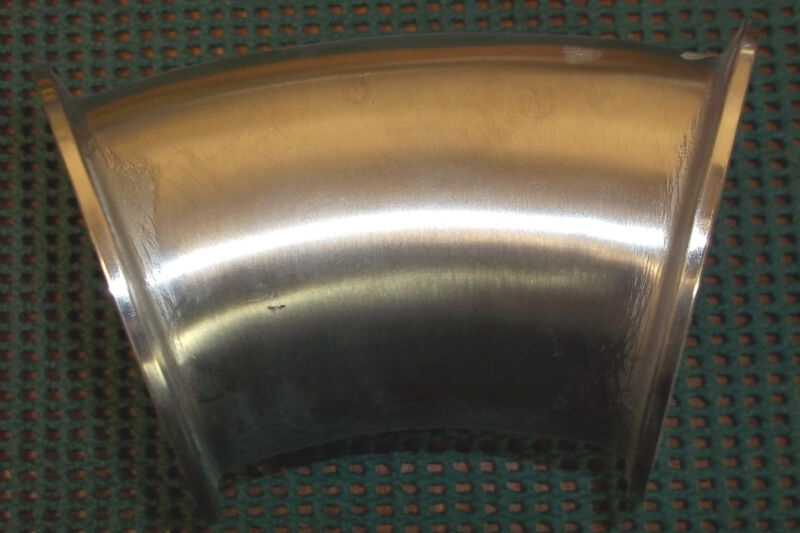 "3"" Stainless Steel 45 Degree Elbow"