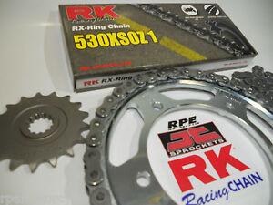 SUZUKI GSF600 96-03 BANDIT(USA) RK 530xsoz X-Ring PREMIUM CHAIN & SPROCKETS KIT