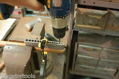 17 Hole Drill Guide - Comparable To A Portable Drill Press -no Bushings Required