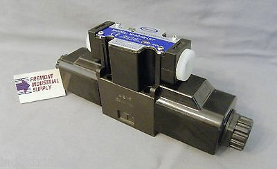 D03 Hydraulic Directional Control Solenoid Valve Float Center 24vdc
