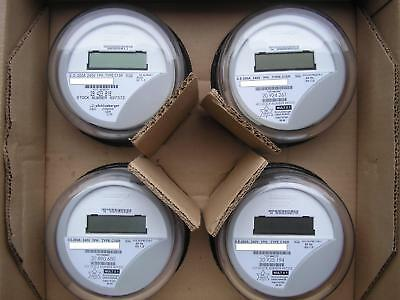 Itron  Watthour Meter  Kwh  C1sr  Centron  240V  200A  4 Lugs  Form 2S  Lot Of 4