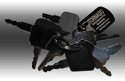 Bobcat Heavy Equipment Construction Ignition Key Set 8 Keys