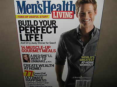Men's Health LIVING Guide Fall/Winter 2011-2012 Best At-Home WORKOUT