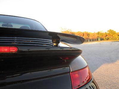 Porsche Rear Spoilers - Porsche 996TT 996 Turbo Fixed Spoiler Rear Wing Kit