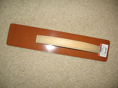 Laminated Resin Hand Float -- 16 X 3 12 -- Concrete Tool Made In The Usa