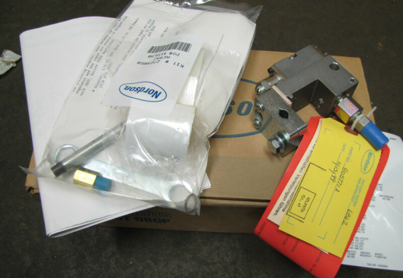 NORDSON GLUE GUN POT MODULE NOZZEL CONTROL H201-CA H201CA 805771A 805771-A NEW
