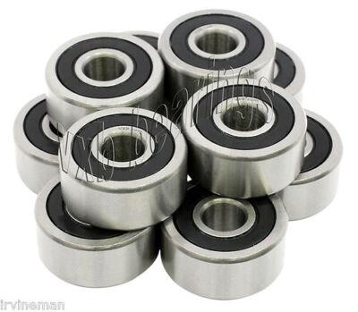 Set of 16 Roller Hockey Skate Ceramic Wheel Bearing Silicon Nitride Balls Si3N4