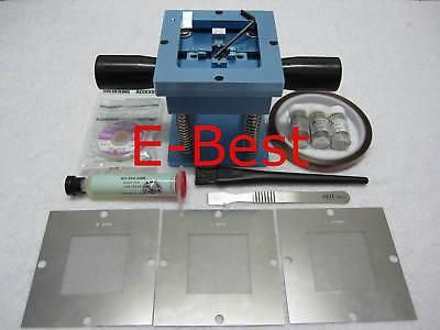 0.5 0.6 0.76 Bga Solder Balls Stencil Reballing Kits