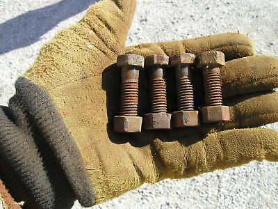 4 Farmall Mta 350 400 450 Tractor Eccentric Seat Bolts