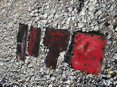 4 Farmall 340 Utility Tractor Original Ih Cover Panels