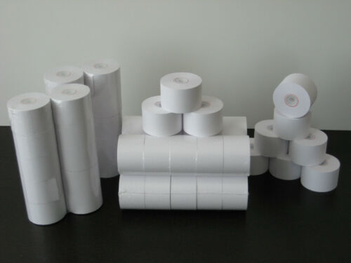 (24) Calculator Paper Rolls & (3) Universal Ribbon Spools COMBO ~Free Shipping~