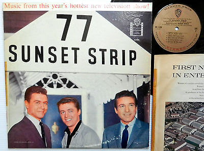 """8X10 PUBLICITY PHOTO /""""77 SUNSET STRIP/"""" THE CAST FROM THE TV SERIES AA-695"""