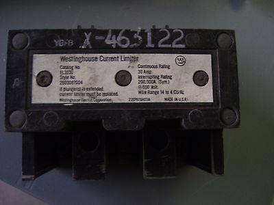 Westinghouse Current Limiter Cat El3030 Style 2603d87g04