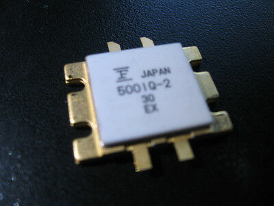 Fujitsu Fll500iq-2 Gaas-fet Rf Microwave Transistors High Power - Nos Qty 2