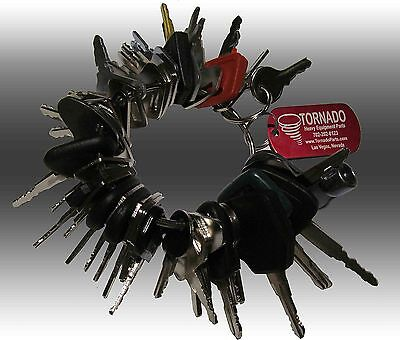 42 Keys Heavy Equipment Construction Ignition Key Set