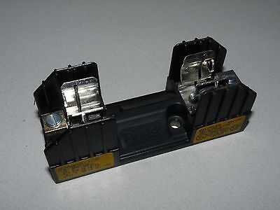 NEW BUSS R25060-1CR FUSEBLOCK FUSE BLOCK PANEL MOUNT Buss Fuse Panels