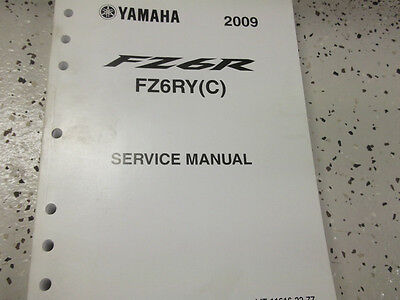 2009 YAMAHA FZ6R FZ6RY (C) C Service Shop Repair Manual OEM FACTORY 09  x