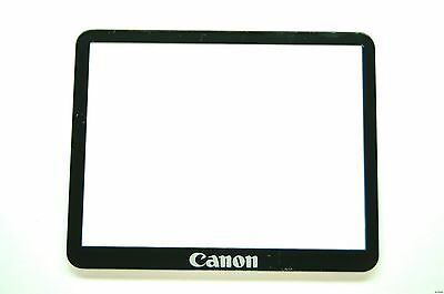 Canon EOS 50D LCD Window outer Glass Screen Display +Tape adhesive