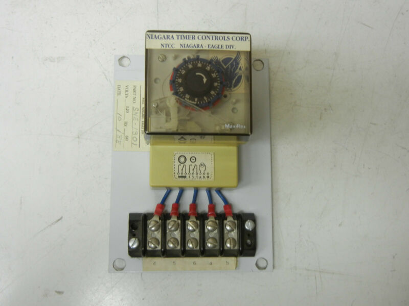 NIAGARA TIMER CONTROLS CORP. SNE-1301 USED TIMER TTS-0100 SNE1301