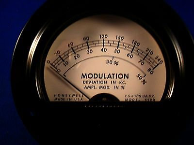 53rn Modulation Deviation Meter New Old Stock