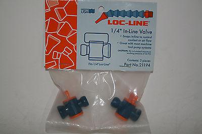 Loc-line 14 Hose In-line Valve 21194 New