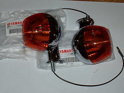 <em>YAMAHA</em> FS1E INDICATOR GENUINE RARE 1 PAIR SHORT STEM