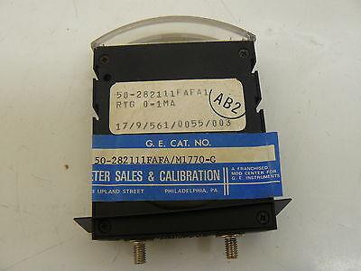 New Ge 50-282111fafam1770-c Thin Edgewise Panel Meter 458-0164