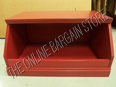 Pottery Barn Kids Cameron Cabinet market bin Cubby STORAGE base SUNVALLEY RED