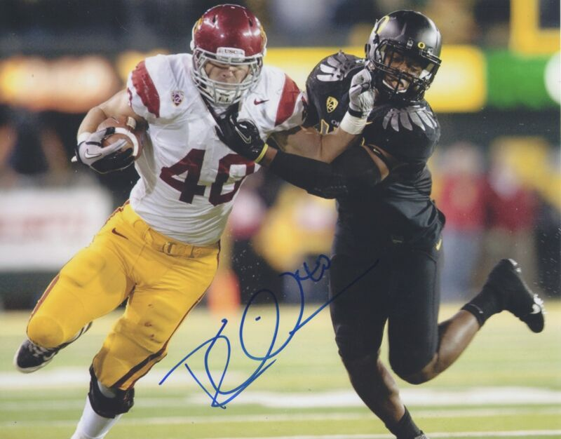 Rhett Ellison MN Minnesota Vikings Auto Signed 8x10 Photo COA GFA E2 PROOF!