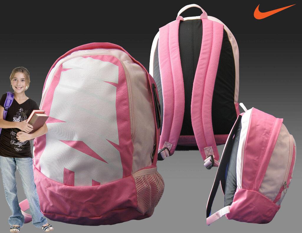 Nouveau NIKE WOMENS GIRLS BACKPACK SCHOOL GYM SPORTS BAG Rose + Adidas WALLET
