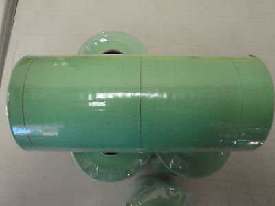 Labels Flat Green For Monarch 1110 1 Sleeve -15 Rolls