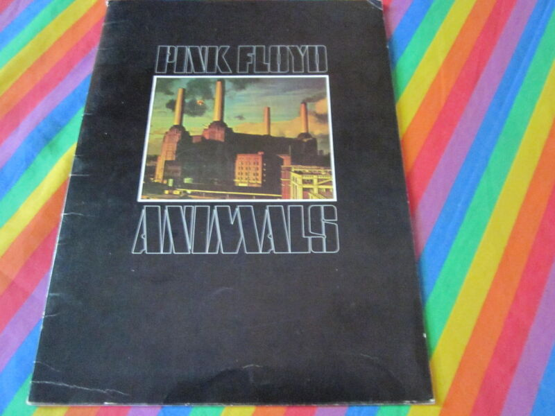 PINK FLOYD VINTAGE ANIMALS 1976 USA TOUR BOOKLET